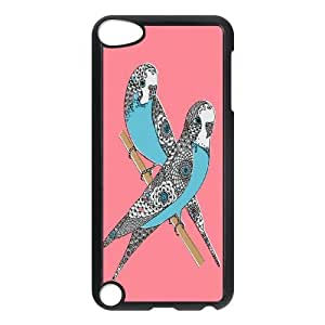 Parrot Pattern Hard Plastic Back Cover Case For Ipod Touch 5 Case HSL489297