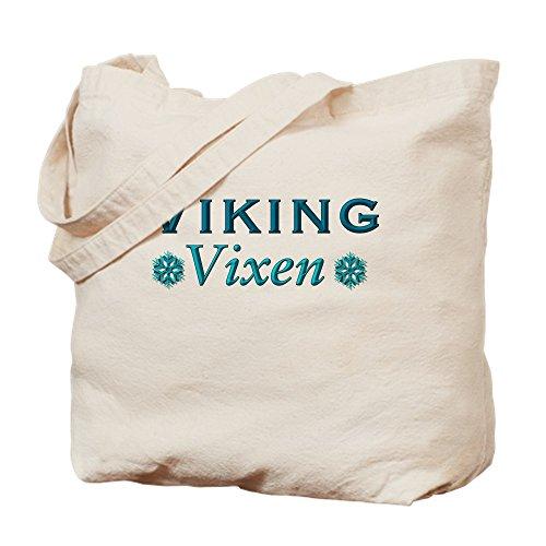 CafePress Viking Vixen Natural Canvas Tote Bag, Cloth Shopping Bag -