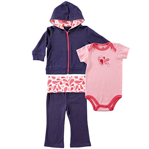 Other Baby Clothing (Yoga Sprout Infant 3 Piece Jacket, Top and Pant Set)