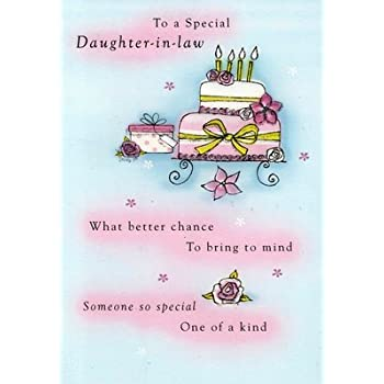 Amazon Second Nature Daughter In Law Birthday Cards Poetry