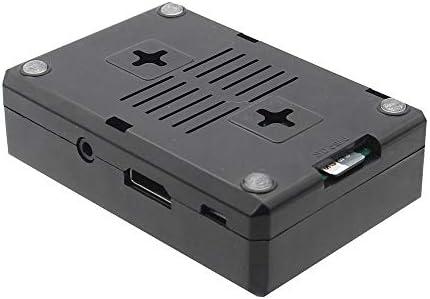 XZW AN Caja ABS Transparente/Negra con Kit de Orificios for Ventilador for Raspberry Pi 3 Modelo B + / 3B Kit Arduino Frambuesa Pi (Color : Negro): Amazon.es: Electrónica