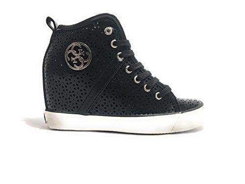 Nero Guess Black Noir de Femme Tennis Jillie Chaussures xwBq1xH