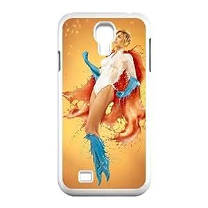Paint Girl ROCK0087331 Phone Back Case Customized Art Print Design Hard Shell Protection SamSung Galaxy S4 I9500