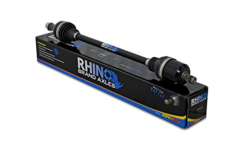 Polaris RZR 1000 Axles - Stock Length - Rhino Brand Heavy Duty (FRONT 1-1-F-LT8-DT) by SuperATV Rhino Brand Axle