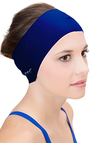Sync Hair Guard & Ear Guard Headband - Wear Under Swim Caps...