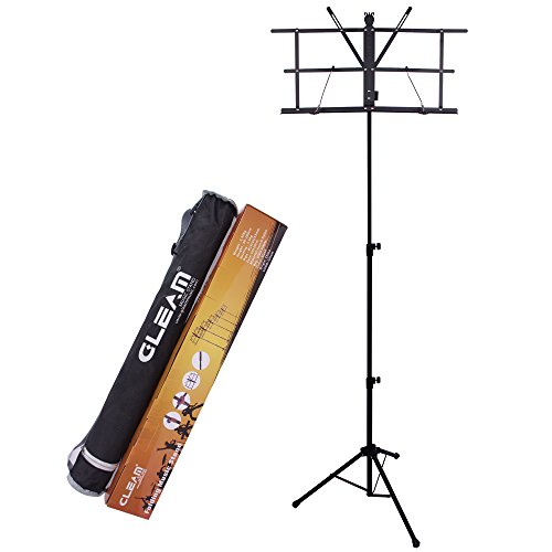 GLEAM Higher Music Stand for Standing Play with Carrying (Higher Music)