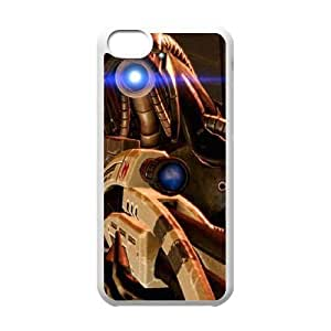 Mass Effect For iPhone 5C Case Cell phone Case Pfaj Plastic Durable Cover