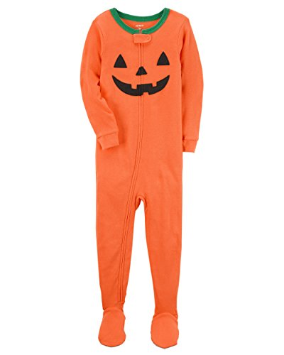 (Carter's Baby Boys' Halloween One Piece Snug Fit Cotton Pajamas 18 Months)