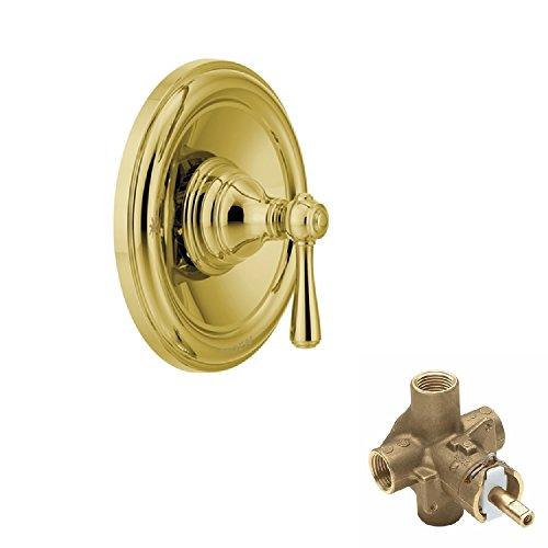 Moen KSVKI-P-T2111P Kingsley Shower Valve, Polished Brass by Moen