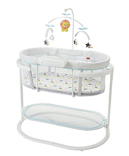 Fisher-Price Soothing Motions Bassinet, Windmill (Stores Rock Little Mattress)