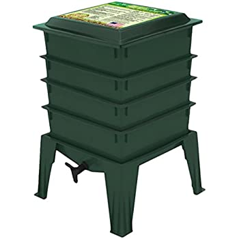 Amazon.com: Worm Factory 360 Compostador de gusanos, Verde ...