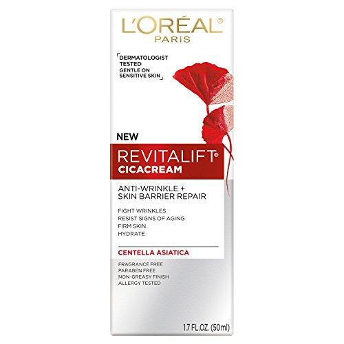 L'Oréal Revitalift Cicacream Anti-wrinkle plus Skin Barrier Repair, 1.7 oz. (Pack of - Repair Revitalift