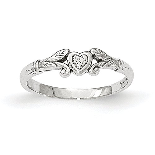Baby and Children 14K Gold Heart Ring ()