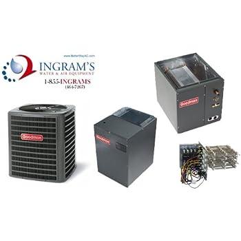 goodman mini split. goodman r410a 19 seer complete split system ac only 3 ton dsxc180361, capf4961d6, mbvc2000aa mini