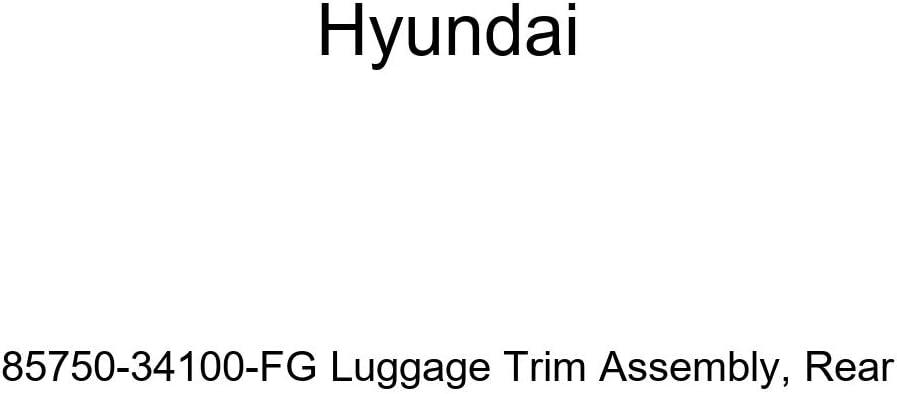 Rear Genuine Hyundai 85750-34100-FG Luggage Trim Assembly