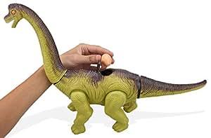 Top Race Dinosaurio a Baterías . Dinosaurio que Pone Huevos, Con Sonidos de Dinosaurio y Luces