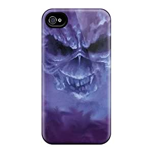 Tpu Sharonggu Shockproof Scratcheproof Iron Maiden Hard Case Cover For Iphone 4/4s