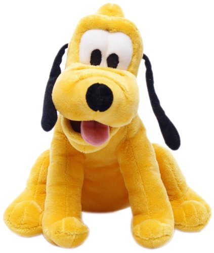 Disney 10-inch Mickey Mouse Club House Pluto Soft Toy