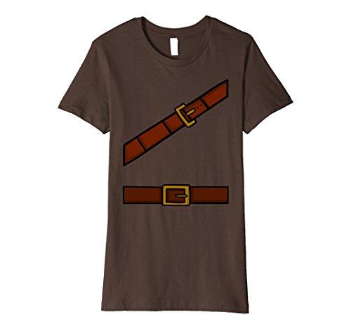 Halloween Happy Costume Dwarf (Womens Dwarf Halloween Group Costume Idea T-Shirt Adventurer Look XL)