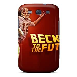 Durable Defender Case For Galaxy S3 Tpu Cover(washington Redskins)