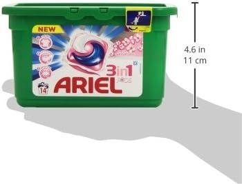 Detergente capsulas sensaciones 3n1 ariel 14 dosis: Amazon.es ...