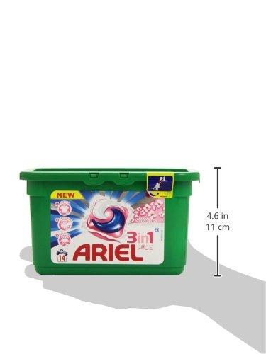 Ariel Cápsulas de detergente 3 en 1-14 Unidades: Amazon.es: Amazon Pantry