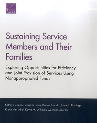 Sustaining Service Members and Their Families: Exploring Opportunities for Efficiency and Joint Provision of Services Using Nonappropriated Funds
