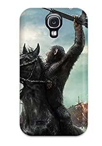 New Fashionable Jon Bresina WXhuSiY993QlQKN Cover Case Specially Made For Galaxy S4(dawn Of The Planet Of The Apes Movie)