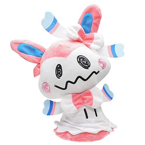 VIETCJ 35Cm Mimikyu Cosplay Eevee Umbreon Espeon Jolteon Vaporeon Sylveon Flareon Stuffed Plush Dolls Toys -Multicolor Complete Series Merchandise