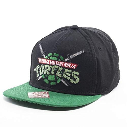 Bioworld Teenage Mutant Ninja Turtles TMNT Snapback Hat Cap Youth Boys Size OSFM Black (Ninja Hat)