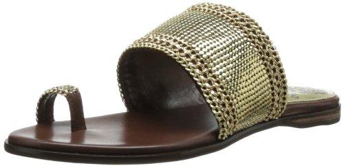 Vince Camuto Women's Amalie Toe Ring Sandal,Dark Brown,7.5 M US