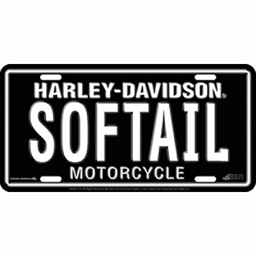 - Harley Davidson SOFTAIL License Plate