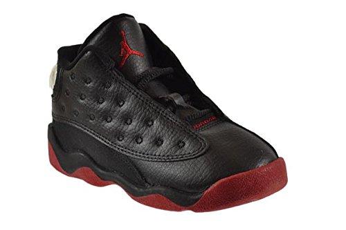 Jordan 13 Retro ''Dirty Bred'' BT Baby Toddler Shoes Black/Gym Red-Black 414581-003 (7 M US) by Jordan (Image #2)