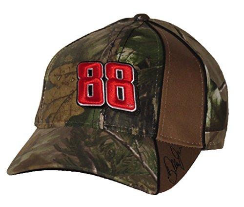 Dale Earnhardt Jr #88 NASCAR Camo Hendrick Motorsports Adjustable Hat