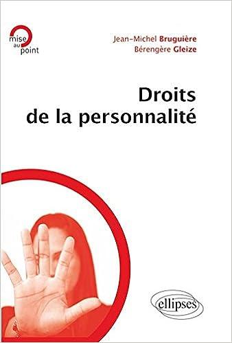En ligne téléchargement Droits de la Personnalité pdf