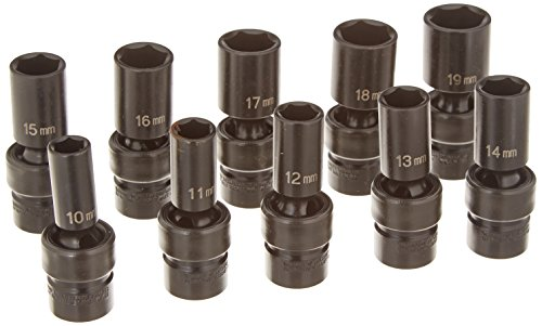 Semi Deep Socket - Grey Pneumatic (1210UMSD) 3/8