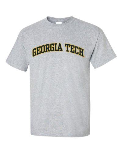 NCAA Georgia Tech Yellow Jackets Men's T-Shirt, X-Large, Gray