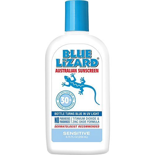 Blue Lizard Australian Sunscreen - Sensitive Sunscreen SPF 30+ Broad Spectrum...