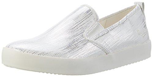 Weiss Basses by 680591 EU Silber Gerli 591 36ai814 Sneakers Blanc Femme Dockers 36 XRxnvqwR