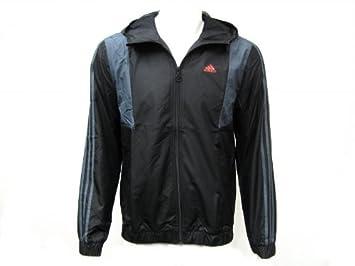 Adidas Tri Windbreaker Herren Windjacke Laufjacke Jacke schwarz grau ... 1ad53e7d2f