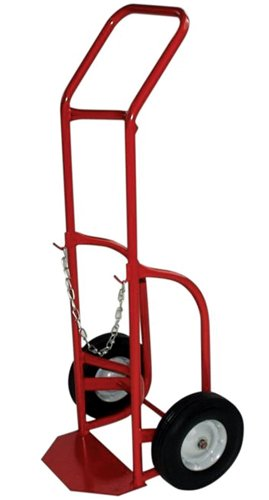 - Milwaukee Hand Trucks 40763 Delivery Cylinder Truck 1 Gas Cylinder, 500 LB Load Rating