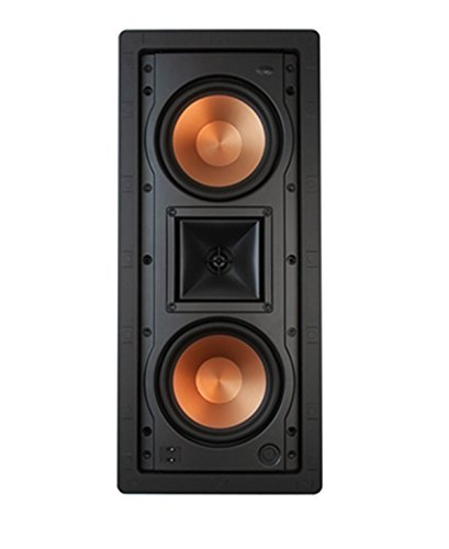 Klipsch R-5502-W II In-Wall Speaker - White (Each) by Klipsch