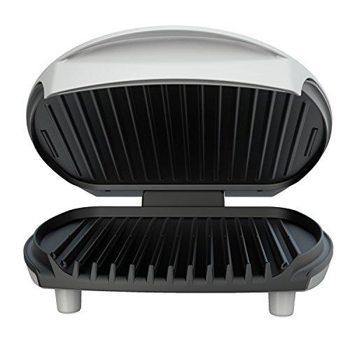 George Foreman GR0030P Jumbo Sized Grill, Platinum