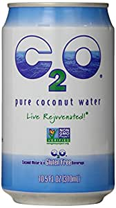 C2O Pure Coconut Water, 10.5 Ounce (Pack of 24)