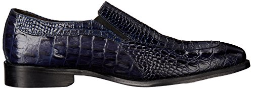Stacy Adams Mens Parisi Slip-on Loafer Blå