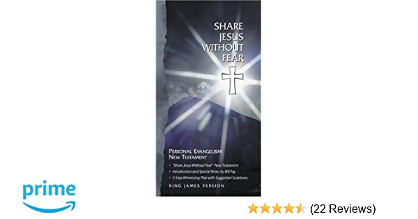 share jesus without fear book