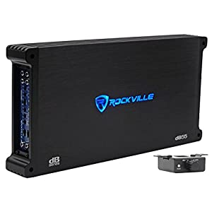 Rockville dB55 4000 Watt/2000w RMS 5 Channel Amplifier Car Stereo Amp, Loud!!Rockville dB55 4000 Watt/2000w RMS 4 Channel Amplifier Car Stereo Amp, Loud!!