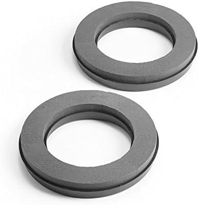 Oasis MaxLife Naylorbase Ring aus Schaumstoff 31 cm Schwarz 2 St/ück