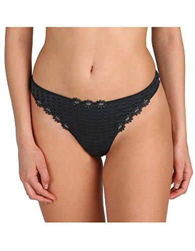 Marie Jo 0600414 Women's Avero Night Grey Thong Panty G-String XSML
