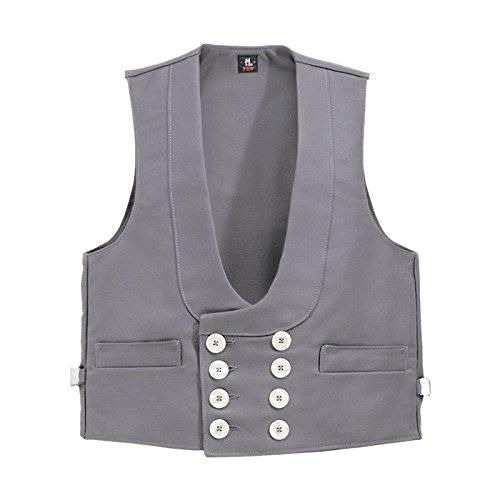 Fhb 2067363-70016-11-44 detlef gris chaleco marcador, gris
